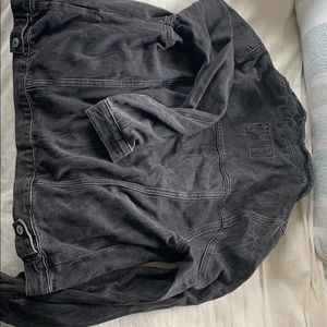 Forever 21 dark wash denim jacket
